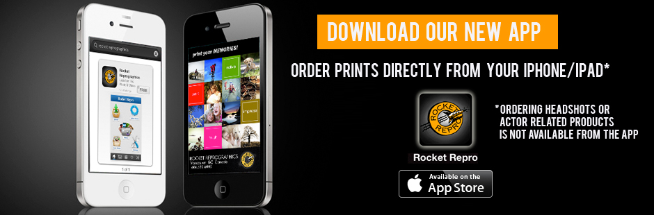 Download our Rocket Repro App for iPhone or iPad
